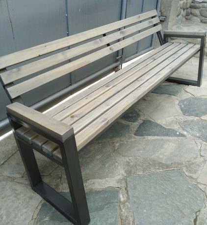 Поръчкови градински и паркови пейки