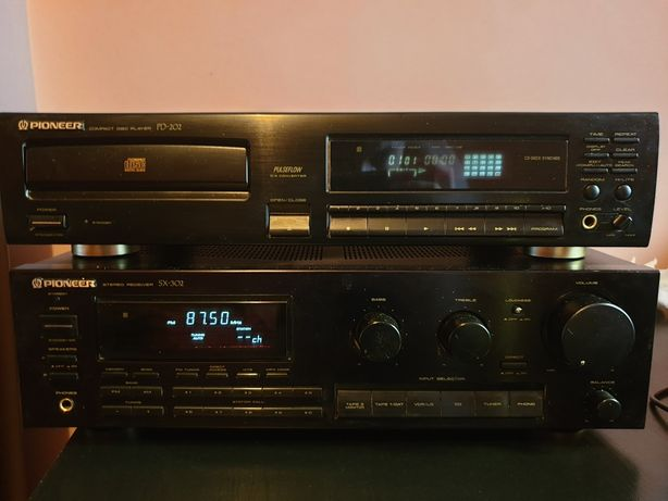 Amplificator Pioneer sx-302+ Pioneer pd-202