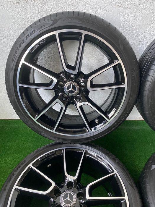 Jante Originale Mercedes C205 AMG R 19 in doua latimi ca noi