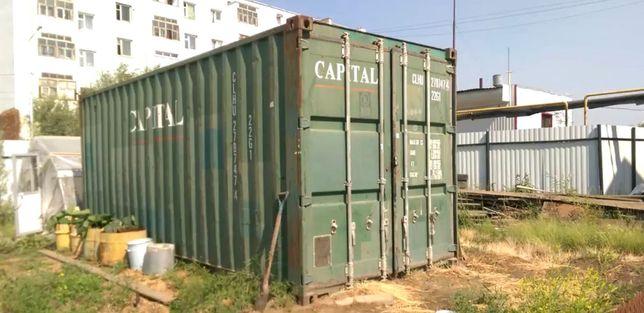 Морской контейнер 20 фунтов (тон) Срочно (Доставка по всему Казахстану