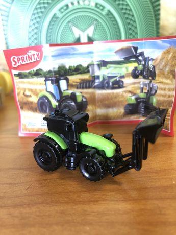 Kinder - tractor minitura Deutz Fahr (4 cm)