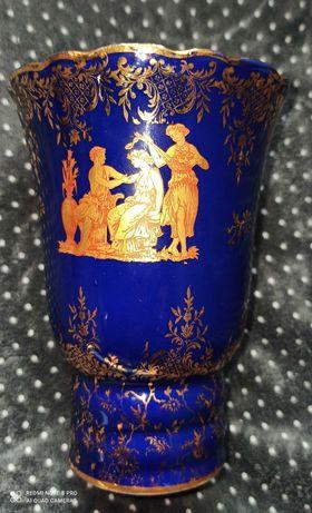Порцеланова ваза Bleu De Four Limoges  Лимож