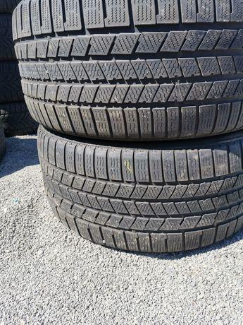 2 бр зимни гуми 295 35 21 Continental Дот 3016 6 мм е граифера
