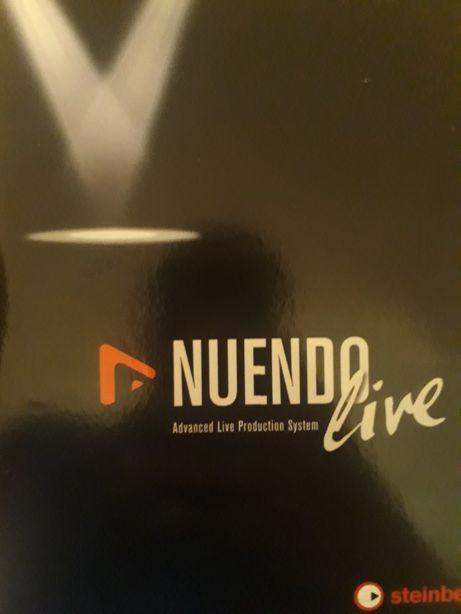 Nuendo live для записи концерта