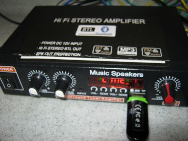 Продам усилитель, МР 3 плеер, Bluetooth, радио. 12- 220 вольт