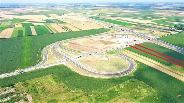 Teren intravilan la autostrada Borș II - Biharia 485.750 Euro