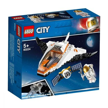 Lego City- misiune de reparat sateliți 60224