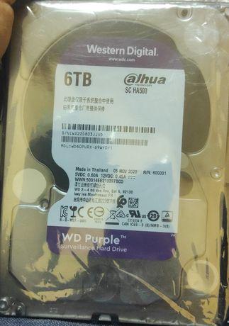 Жёсткий диск 6тб новый 2шт куплен недавно