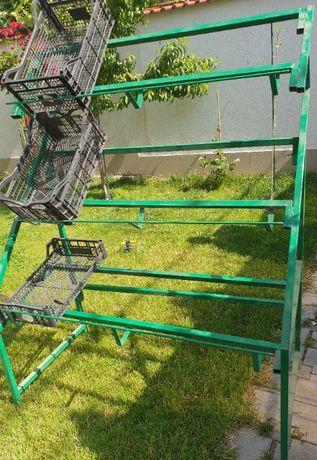 Suport depozitare produse legume fructe/chiuveta de inox
