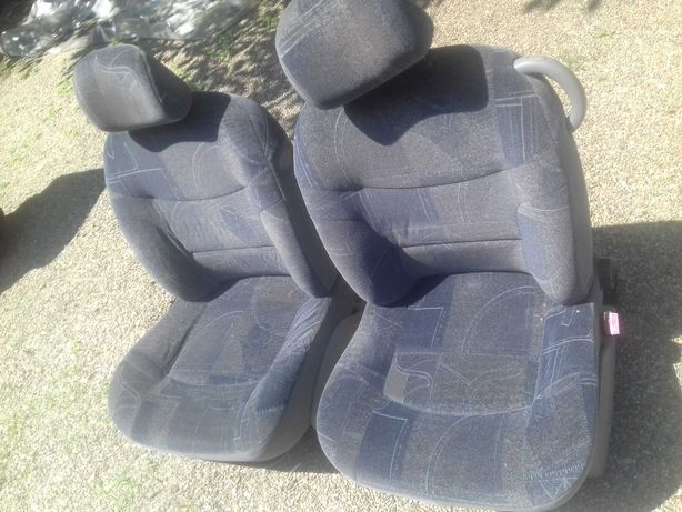 Renault Scenic 1 Kangoo RX4, set scaune fata, cu tetiere si airbag-uri