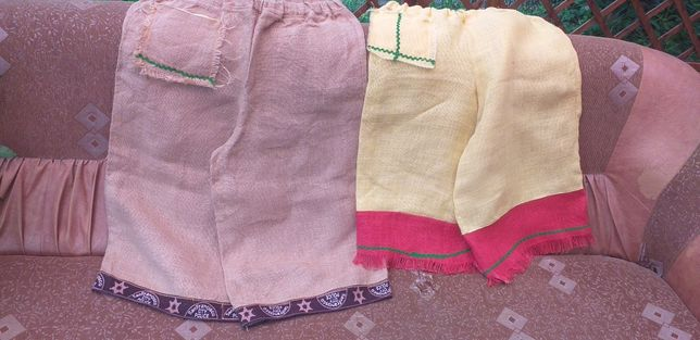 Pantaloni canepa rustici