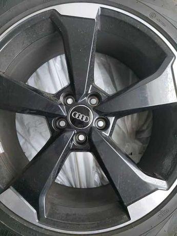 Jante originale Audi SQ5 Rotor V2 Black Machine Faced 255/45 R20