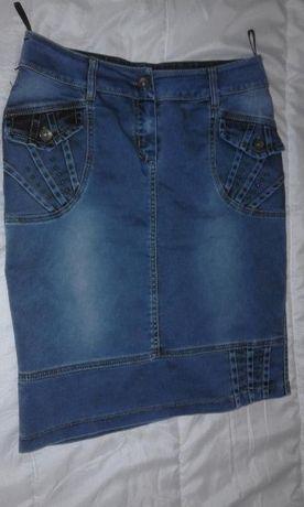 Дънкови поли, нови. Красив модел, качествен плат.
