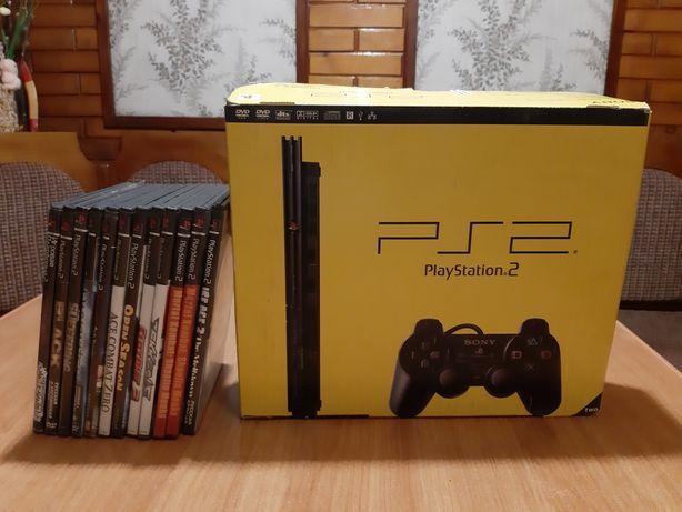 PS2 в очень хорошем состоянии.