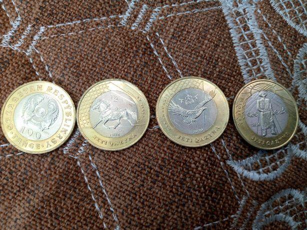 Монета 100 тенге сатылады