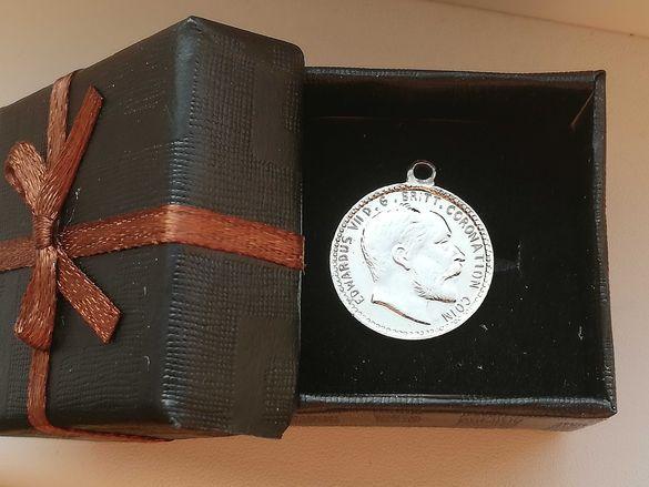 Медальон Edwardus VII 1911