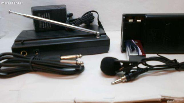 Microfon wireless WVNGR SM-200 profesional Wireless Lavaliera