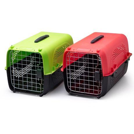 Транспортна чанта с метална вратичка и винтова сглобка за кучета и кот