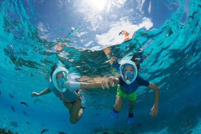 Полнолицевая маска для подводного плавания Easybreath Subea