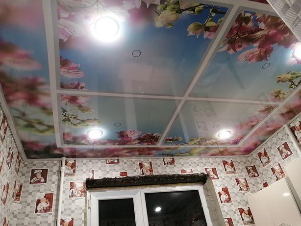 Натяжные потолки (скидка по Темиртау)