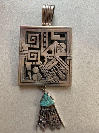 Navajo Pendant masiv argint