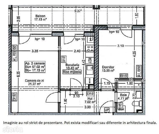 Apartament 2 camere - Auchan Titan- Parcul Teilor