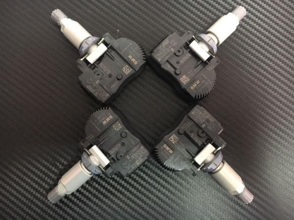 4бр Нови Оригинал TPMS RDKS Сензор налягане в гумите БМВ BMW F Серия