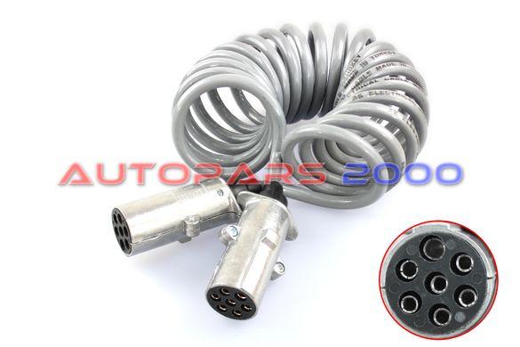 Кабел централен ток товаен автомобил N-type /Сиви