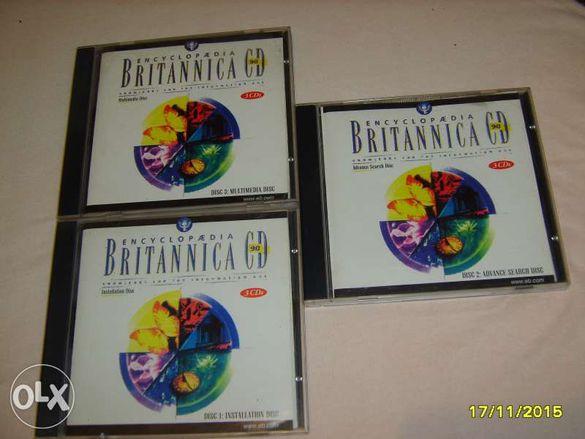 ENCYCLOPAEDIA BRITANNICA Енциклопедия Британика - 3 диска