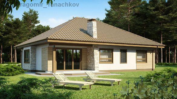 Сглобяеми,енергоефективни къщи Драгония. 333 евро/м2