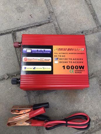 Invertor de Curent Rulota  12V—>220V (1000W)