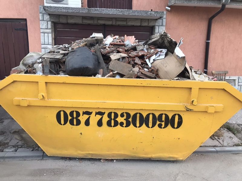 Контейнери за строителни и битови отпадъци! гр. Пловдив - image 1