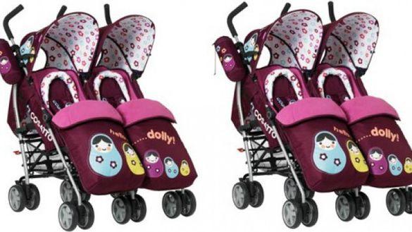 Лятна количка за близнаци на Косато Cosatto