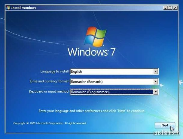 Instalez Windows-uri | CV-uri angajare| Configurari| Reparatii
