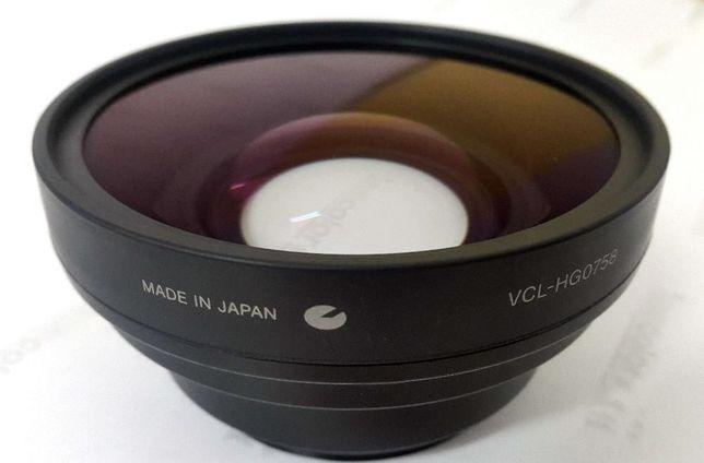 Широкоугольная насадка Sony VCL-HG0758