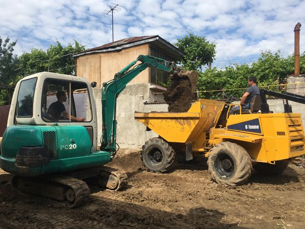 Buldo Excavator Miniexcavator Bobcat Demolari Constructii
