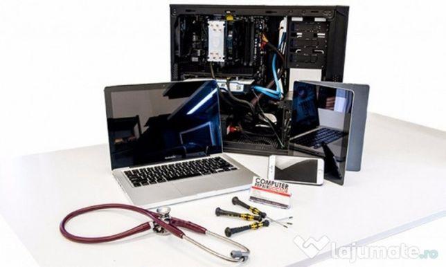 Repar, configurez si instalez sistem de operare complet