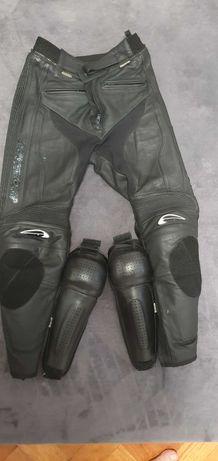 Pantaloni moto piele AGV sport