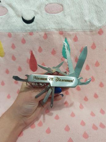 Мултифункционално ножче с надпис по избор