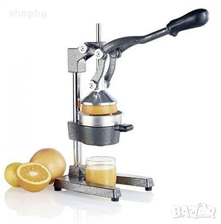 Професионална ръчна цитрус преса, машина за фреш от нар, портокал, гре
