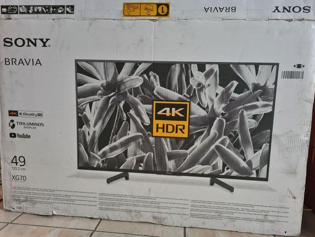 TV led Sony Bravia xg70 49 inchi defect spart 4k