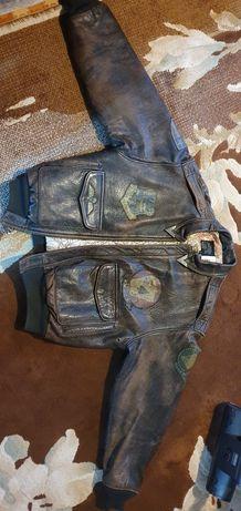 Легендарная кожаная куртка Avirex тип A-2 VP-2