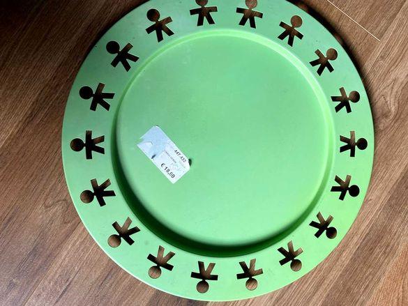 Голям метален поднос/чиния