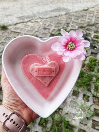 Глицеринов сапун Сърце