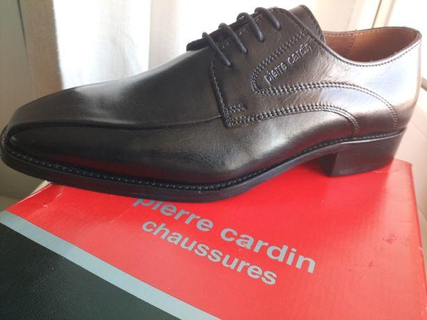 Pantofi piele/ Pierre Cardin/ Paris/produs NOU/ marimea 40