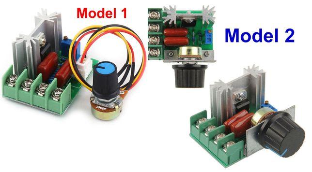 Variator tensiune regulator turatie motor curent alternativ 2000w 220V