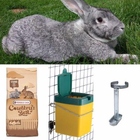 Agroland - Hrana si echipamente pentru iepuri