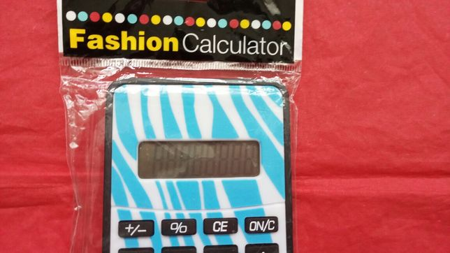 Calculator de buzunar- Fashion calculator - Nou si sigilat.