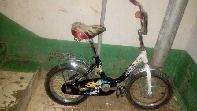 Продается детский велосипед в отличном рабочем состоянии.