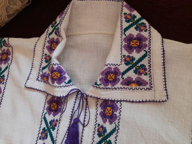 Cămașă tradițională / populara din zona Teleorman